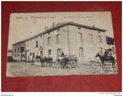 WALLERSBERG -  VATIMONT  -  Restauration Von Louis Steckler -  1912    - - Faulquemont