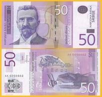 Serbia 50 Dinara P-56b 2014 UNC Banknote - Serbie
