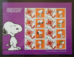 China 2006 SNOOPY Personalization Souvenir Sheet,MNH Stamp,Size About 200mm X150 Mm,Peanuts Worldwide Licensing Product - Comics