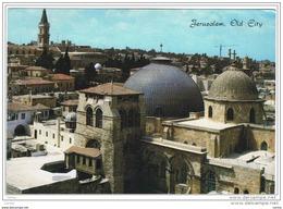 JERUSALEM:  CHURC  OF  THE  HOLY  SEPULCHRE  -  TO  ITALY  -  FG - Israele