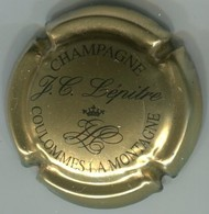 CAPSULE-CHAMPAGNE LEPITRE J.C. N°06b Or Et Noir - Autres