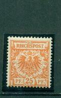 Deutsches Reich, Krone / Adler 49 Ba Falz * BPP Geprüft - Duitsland