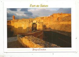 JC , Cp, 66 , FORT DE SALSES ,pays Catalan ,  Voyagée - Francia