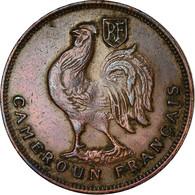 Monnaie, Cameroun, Franc, 1943, Pretoria, TTB, Bronze, KM:5, Lecompte:16 - Cameroun