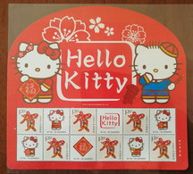 China 2016 Sanrio Licensing Product Hello Kitty Personalization Souvenir Sheet,MNH Stamp,Size About 204mm X186 Mm - Comics
