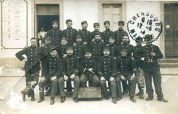 N°3884 T -carte Photo 1è Colonial -12è Compagnie 1914- Cherbourg- - Guerre 1914-18