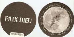 Sous-bock - PAIX DIEU - Pleine Lune De L'orge, Brassé Par La Pleine Lune, Août - Abbaye Cistercienne Belgium - Sous-bocks