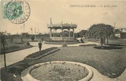 14 - TROUVILLE SUR MER  - Le Jardin Public - Trouville