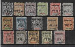 TCH'ONG K' ING - Série 32/47  FAUX FOURNIER - Tch'ong-K'ing (1902-1922)