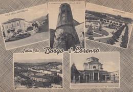 Toscana - Firenze  -Borgo S. Lorenzo  - Saluti Da ...  5 Vedute  - F. Grande - Anni 50 -  Molto Bella - Italia