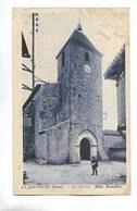 32 - LA SAUVETAT ( Gers ) - Le Clocher. Carte Bleutée - France