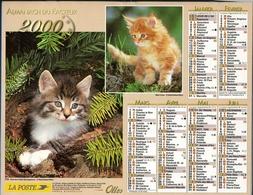 Almanach De La Poste 2000 - Paris - Val De Marne - Calendriers