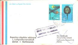 Lettre Pour NEPAL - Lettres & Documents