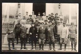 BEAUVAIS: Plan TOP Sur Les Officiers Supérieurs De France Et Des Forces Alliées En 1917. - Beauvais