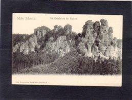 91595    Germania,   Sachs. Schweiz,  Die  Gansfelsen Bei Rathen,  NV - Rathen