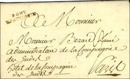 PONT / BEAUVOISIN (L N° 3). 1787. - TB / SUP. - Poststempel (Briefe)