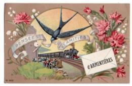 (59) 594, Armentières, N° 8013, Un Bonjour D'Armentières - Armentieres