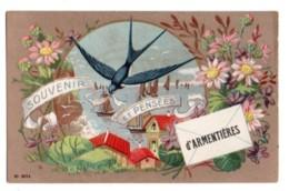 (59) 595, Armentières, N° 8014, Souvenir Et Pensée D'Armentières - Armentieres