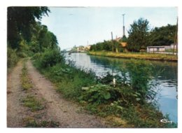 GF (59) 603, Marcoing, Combier 59377 297 0318, Le Canal De St-Quentin - Marcoing