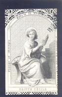 Réverend Monsieur Né à Courtrai 1789 Et Décéda Hoogstrade 1864. - Devotieprenten