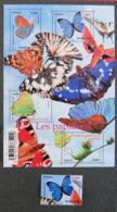 FRANCE - 2010 - YT 4497 +F 4498 ** - PAPILLONS - France