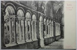 ROMA Chiostro Di S. Paolo - Eglises