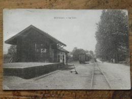 CPA (19) Corrèse - MEYSSAC - La Gare - Altri Comuni