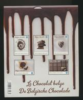 Le Chocolat Belge BF De 2013  Dentelé  MNH XXX - Foglietti