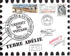 Carnet De Voyage TAAF Terre Adélie - Aquarelles De Serge Marko ** - Boekjes