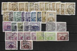 Czechoslovakia 1919 Porto Postage Due+ Express Lot - Czechoslovakia
