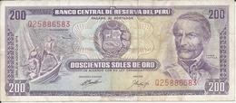 PEROU  200  Soles  1974 - Peru