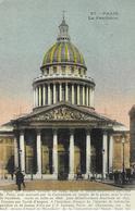 75 Paris Le Panthéon  Vieilles Voitures - Panthéon