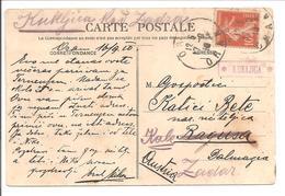 Kroatië-Austria. XKUKLJICAx  Near Zadar. POSTABLAGE 1910 - Croatia