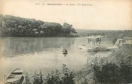 SARTROUVILLE - La Seine, Un Hydravion. - 1919-1938: Entre Guerres