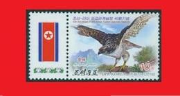 Northern Goshawk Bird / Busard Cendré Oiseau  / Korea N. Corée 2015 MNH ** - Aigles & Rapaces Diurnes