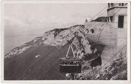 74. Pf. ANNECY. Téléphérique De Veyrier-du-Lac. Arrivée Au Sommet - Annecy