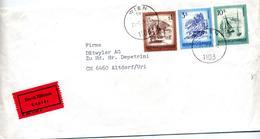 Lettre Cachet Wien Sur Tourisme - Affrancature Meccaniche Rosse (EMA)