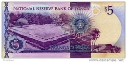 TONGA P. 45 5 P 2015 UNC - Tonga