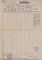 Billet De Logement Officier Britannique B.E.F , Novemnbre 1939 - Nomain ( Nord ) - Dokumente