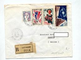 Lettre Recommandée Sucy En Brie Sur Amabilite Cocteau Victoire - Marcophilie (Lettres)