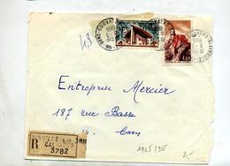 Lettre Recommandée Blainville Sur Orne Sur Rochamp Joux - Marcophilie (Lettres)