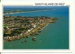 85  SAINT HILAIRE DE RIEZ   La Corniche De Sion Sur L'Océan   Cpm Voyagéee En !!  Edit Miegeville - Deleville - Saint Hilaire De Riez