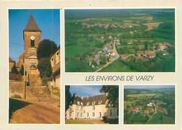 Cpsm -   Environs De Varzy - L 'église D 'Oudan , Cuncy Les Varzy , St Pierre Du Mont , Corvol  D 'Embernard    S215 - Sonstige Gemeinden