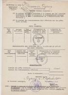 Document Sur Les Prêts Attribués Aux Communes Françaises Par Les Autorités Allemandes - Cysoing - Septembre 1940 - Dokumente
