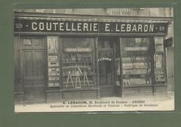 CARTE POSTALE 49 MAINE ET LOIRE ANGERS COUTELLERIE LEBARON FABRIQUE DE SECATEURS - Angers