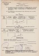 Document Sur Les Prêts Attribués Aux Communes Françaises Par Les Autorités Allemandes - Flines Lez Raches - Sept 1940 - Dokumente