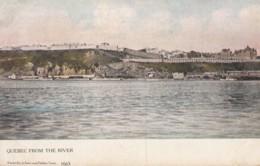 CPA - Quebec From The River - Québec - Les Rivières