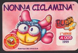 Buzzz Family - Nonna Ciclamina - 1°Serie A005 - 1999 - SCD00004 - Trading Cards