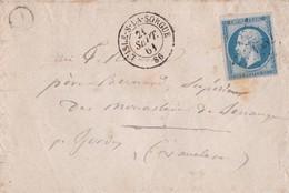 France - Y&T 14B Sur Lettre Oblitération PC 1552 - L'Isle-sur-la-Sorgue - Vaucluse, à Destination De Gordes - Vaucluse - Marcophilie (Timbres Détachés)