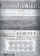 Jornal 'Notícias Filatélico' Da 'Aemipex-69'  Academica Coimbra Nº 42 De 1/12/1969. Newspaper Filatelic News Aemipex-69' - Livre De L'année